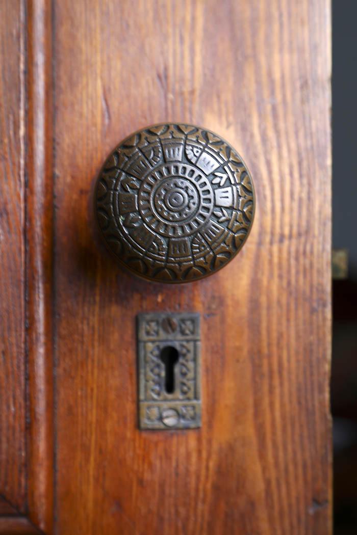 Door Knob inside Summerside Inn Bed and Breakfast